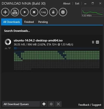 Phần mềm Download Ninja
