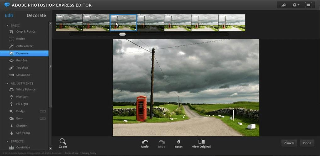 Thiết kế ảnh chuyên nghiệp với Photoshop Express