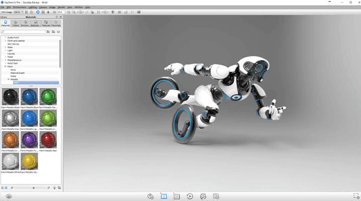 Phần mềm sửa ảnh KeyShot