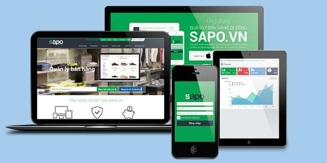 Phần mềm quản lý bán hàng Sapo.