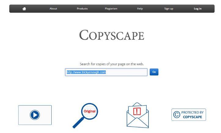 CopyScape.