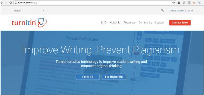 Phần mềm kiểm tra đạo văn Turnitin