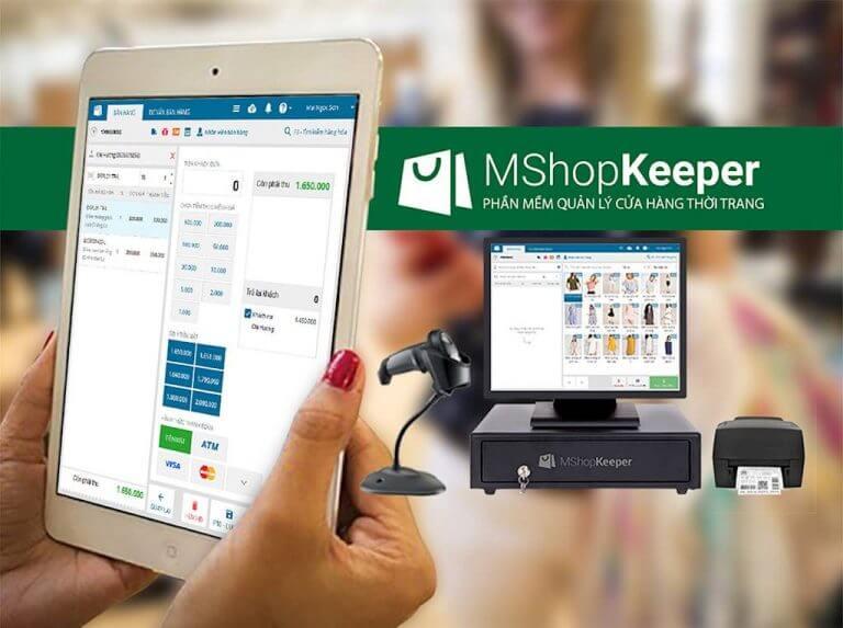 MShopKeeper là phần mềm chuyên quản lý các chuỗi cửa hàng thời trang