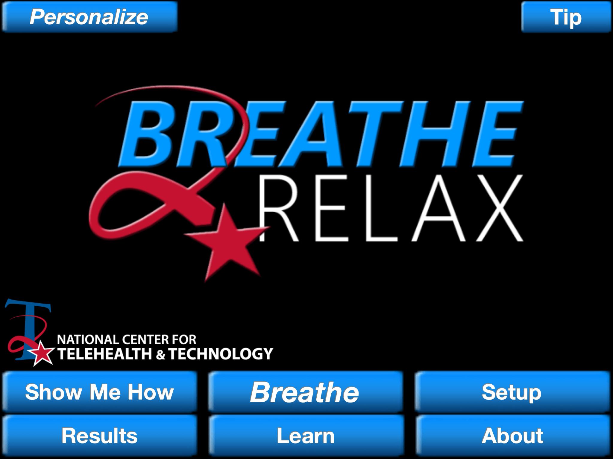 Ứng dụng giúp giảm stress breathe relax