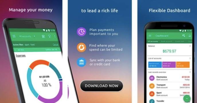 Phần mềm quản lý chi tiêu Clarity Money