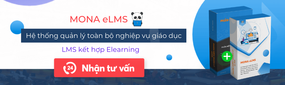 Hệ thống phần mềm Mona eLMS