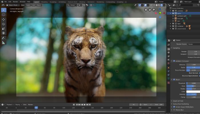 blender-phần mềm chỉnh sửa video chuyên nghiệp