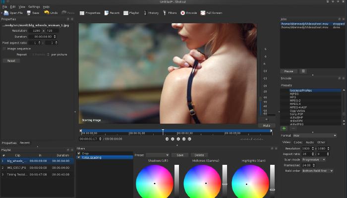 Shotcut - Phần mềm biên tập video chuyên nghiệp