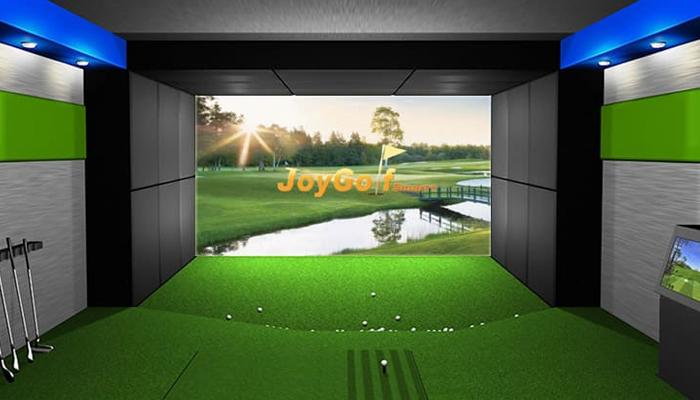 Gải pháp tập golf trong nhà – Joy Golf Smart