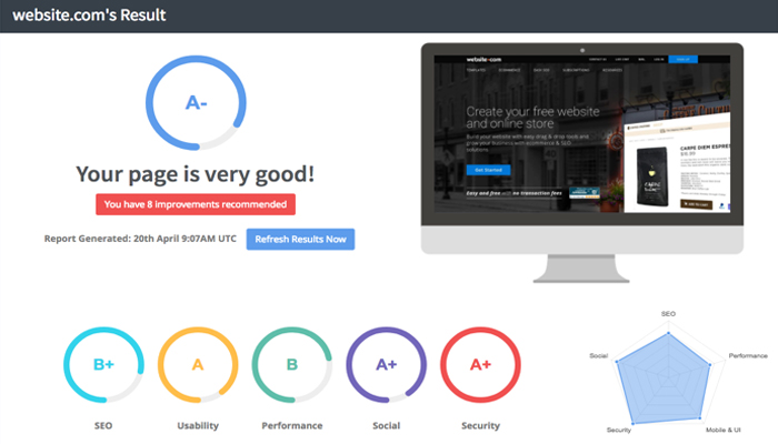 Công cụ kiểm tra website chuẩn SEO - Seoptimer.com